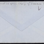 """Mary Culver Pollack (Class of 1917) letter (22 September 1915) and envelope w. """"Votes for Women"""" sticker"""