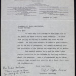 Ethel Puffer Howes to Henry Noble MacCracken (27 October 1915)