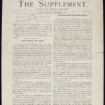 The Supplement, v. II, n. 1 (Dec. 1914)