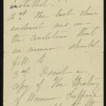 Elizabeth Cady Stanton to Laura Brownell Collier (21 January 1886)